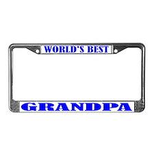 Best Grandpa License Plate Frame