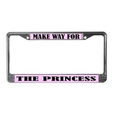Princess License Plate Frame