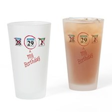 Funny Leap day Drinking Glass