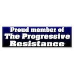 Progressive Resistance Bumper Sticker