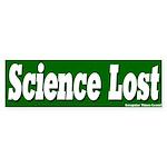 Science Lost Bumper Sticker