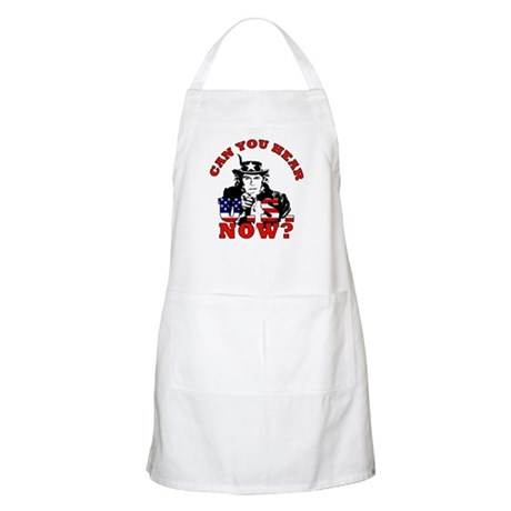 George Bush/Uncle Sam BBQ Apron
