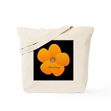 Sunny Bright Fluffy Flower Holiday Retro Tote Bag