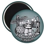 Vancouver Souvenir Magnets 100 pack Fridge Magnets