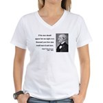 Ralph Waldo Emerson 5 Women's V-Neck T-Shirt