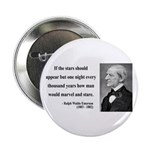 "Ralph Waldo Emerson 5 2.25"" Button (10 pack)"