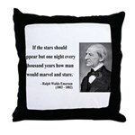 Ralph Waldo Emerson 5 Throw Pillow