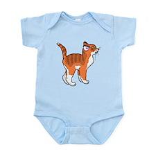 Orange Kitten Body Suit