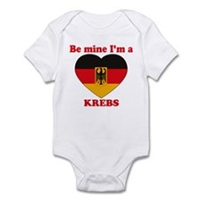 Krebs, Valentine's Day Infant Bodysuit