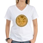 Mexican Oro Puro Women's V-Neck T-Shirt