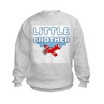 Little Brother - Airplane Kids Sweatshirt