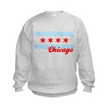 Chicago Flag  Design #2 Sweatshirt