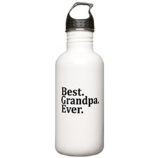 BEST GRANDPA EVER Water Bottle