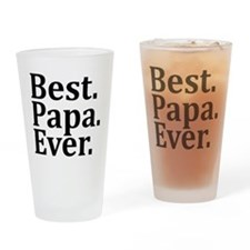 Best Papa Ever. Drinking Glass