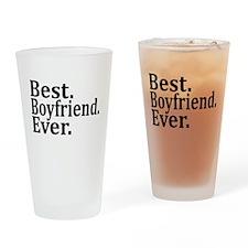 Best Boyfriend Ever. Drinking Glass