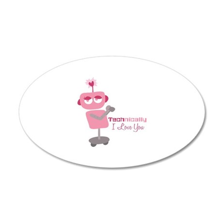 Technically Love Wall Decal