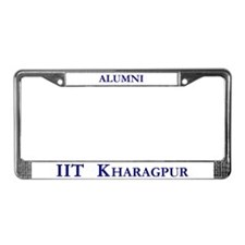 IIT Kharagpur License Plate Frame