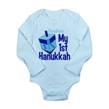 1st Hanukkah Long Sleeve Infant Bodysuit
