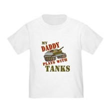 Daddy Plays with Tanks T