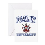 PASLEY University Greeting Cards (Pk of 10)