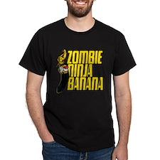 Zombie Ninja Banana T-Shirt