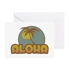 Aloha Palm Greeting Cards (Pk of 10)