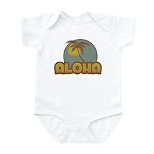 Aloha Palm Infant Bodysuit