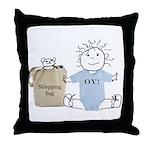 Jewish Baby Throw Pillow