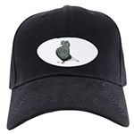 Dun Teager Cap Flight Black Cap