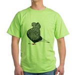 Dun Teager Cap Flight Green T-Shirt