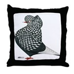 Dun Teager Cap Flight Throw Pillow