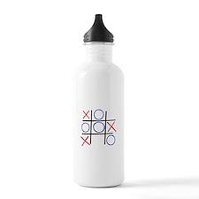 Tic Tac Toe Water Bottle