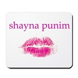 Shayna Punim Mousepad