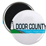 "Door County 2.25"" Magnet (10 pack)"