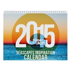 2015 Seascapes Inspiration Wall Calendar