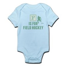 F Is For Field Hockey Body Suit