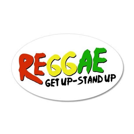 Get Up-Stand Up Wall Decal