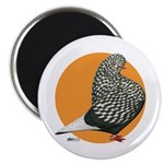 Orange Teager Flight Magnet