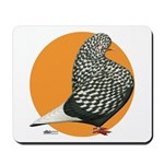 Orange Teager Flight Mousepad