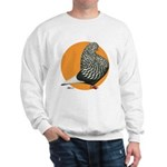 Orange Teager Flight Sweatshirt