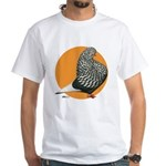 Orange Teager Flight White T-Shirt