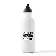World's Best Auntie Water Bottle