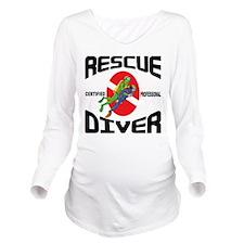 scuba57.png Long Sleeve Maternity T-Shirt