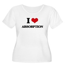 I Love Absorption Plus Size T-Shirt