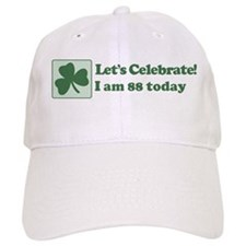 Lets Celebrate I am 88 Baseball Cap