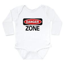 Cute Gun Long Sleeve Infant Bodysuit