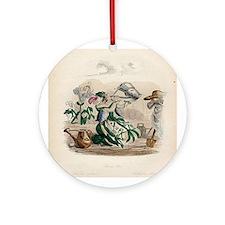 SWEET PEA Ornament (Round)