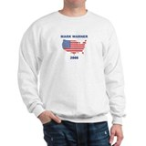 MARK WARNER 2008 (US Flag) Sweatshirt