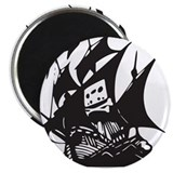 "Cool Torrent 2.25"" Magnet (10 pack)"