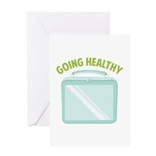 Going Healthy Greeting Cards